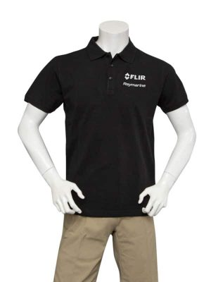 Dual Branded Men's Black Classic Poloshirt