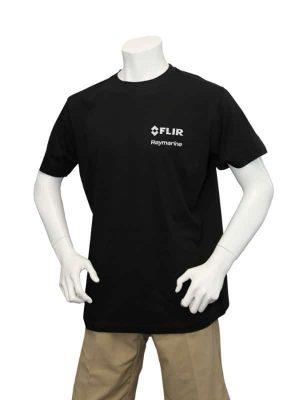 Dual Branded Black Premium Teeshirt