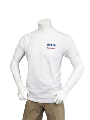 Dual Branded White Premium Teeshirt