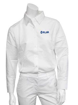 FLIR Ladies White Long Sleeve Shirt