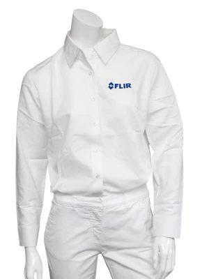 FLIR Ladies White Long Sleeve Shirt