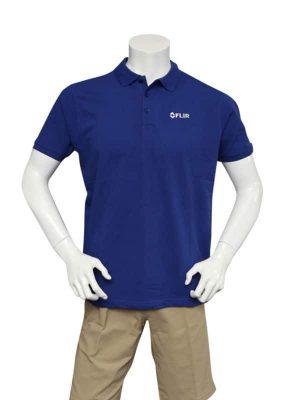 FLIR Men's Deep Blue Classic Poloshirt