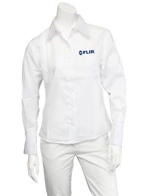 FLIR Ladies White Non-Iron Shirt