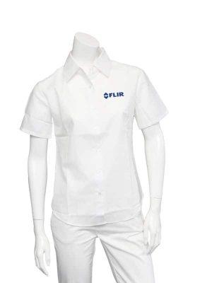 FLIR Ladies White Short Sleeve Shirt