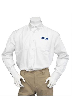 FLIR Men's White Long Sleeve Shirt