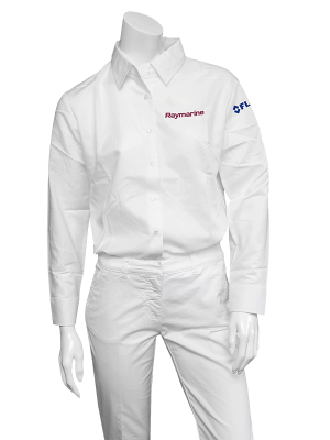 Raymarine Ladies White Long Sleeve Shirt