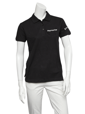 Raymarine Ladies Black Classic Poloshirt