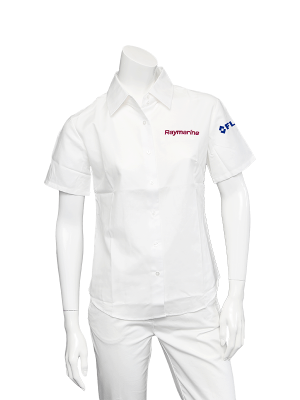Raymarine Ladies White Short Sleeve Shirt