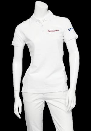 Raymarine Ladies White Classic Poloshirt