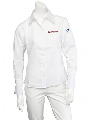 Raymarine Ladies White Non-Iron Shirt