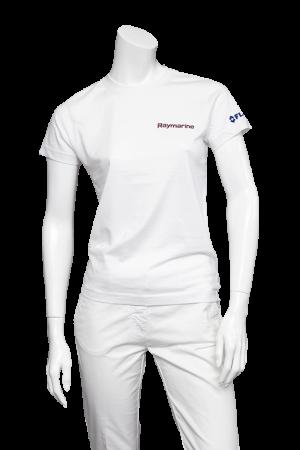Raymarine Ladies White Premium Teeshirt