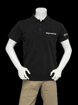 Raymarine Men's Black Classic Poloshirt