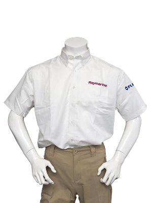 Raymarine Men's White Short Sleeve Shirt
