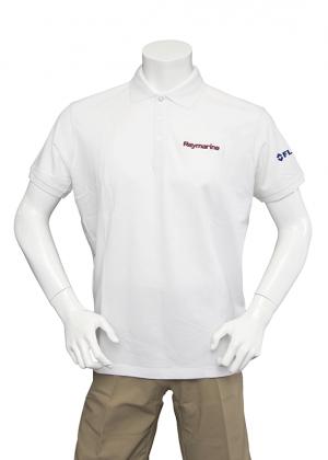 Raymarine Men's White Classic Poloshirt