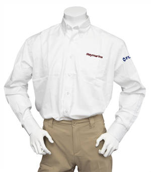 Raymarine Men's White Long Sleeve Shirt