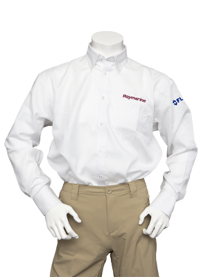 Raymarine Men's White Non-Iron Shirt